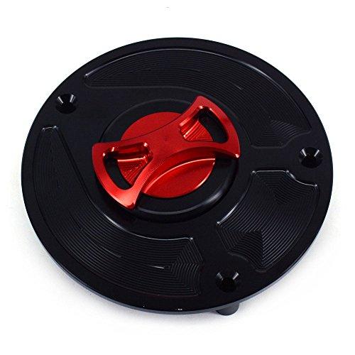 CNC-Tapa para depósito de combustible de moto Honda RVF 400 CBR 600 600RR 900 250RR Fireblade 1100 XX