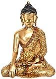 仏教の仏陀 ムドラ (チベット仏教) - 真鍮像