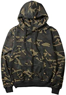 Hoodie Ladies Vintage Fashion Camouflage Hoodie Long Leisure Sleeve Clothing Loose Elegant Sport Hoodies Sweatshirt Autumn Winter 142zxc (Color : Tarnung, Size : XXL)