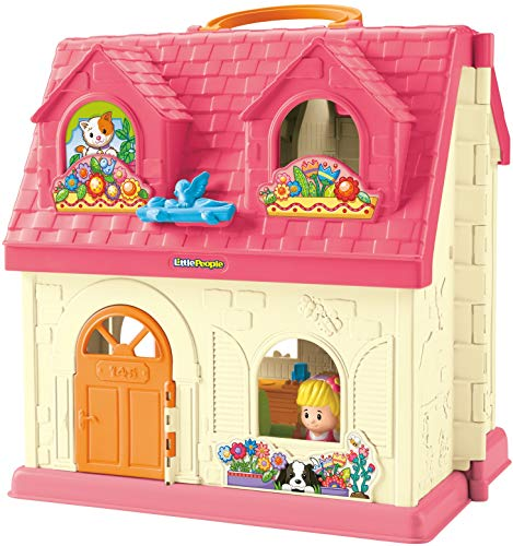 Fisher-Price Little People Surprise & Sounds Home Playset [Amazon Exclusive]