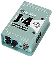 Radial ラジアル 不平衡-10dB to 平衡+4dB ステレオ・コンバーター J+4 【国内正規輸入品】
