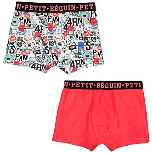 Petit Béguin - Lot de 2 boxers garçon Hop - Taille - 4/5 ans