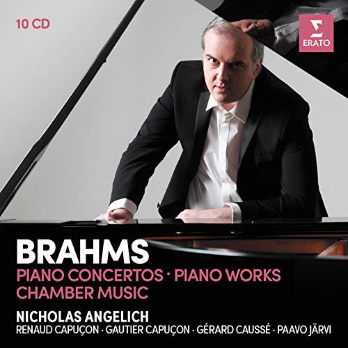 Brahms Piano Concertos Piano Works - Violin (10 CD)