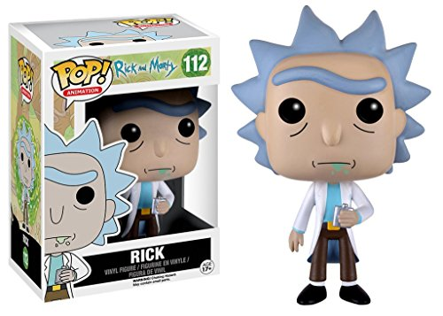 Funko - POP! Vinilo Coleccion Rick & Morty - Figura Rick (9015)