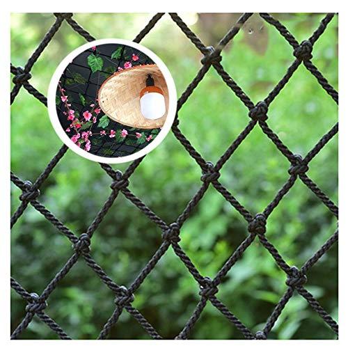 HNWNJ Sicherheitsnetz füR Kinder,Seilnetz Schutznetz Kinder Sicherheitsnetz Balkonnetz Balkon-Netz Decorative Garten Dekor Fracht Nylon Gitter Spalier Kletternetz Sicherheits GepäCknetz Pflanzenetz