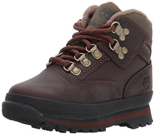Timberland Unisex-Kinder Euro Hiker Chukka Boots, Braun (Medium Brown Full Grain), 38 EU