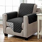 Kamaca Wende - Sesselschoner Sesselauflage Relax mit Armlehnen und Taschen Sessel Überwurf warm und...