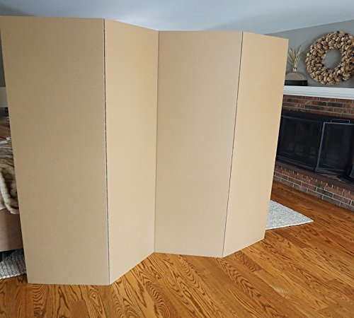 DormCo Privacy Room Divider (2-Pack) - Kraft