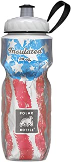 Polar Bottle Insulated Water Bottle - Flag Series - 100% BPA-Free Cycling & Sports Water Bottle