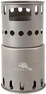 TOAKS(トークス) アウトドア キャンプ チタニウム コンパクトストーブ B.P ウッドバーニング ストーブ STV-11 【日本正規品】 12706