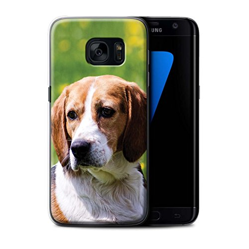 Hülle Für Samsung Galaxy S7 Edge/G935 H&/Eckzahn Rassen Beagle Design Transparent Ultra Dünn Klar Hart Schutz Handyhülle Case
