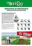 Irritec Kit Completo Agricoltura Sistema Di Irrigazione A Goccia 150 Mq Orto Giardino Irrigo