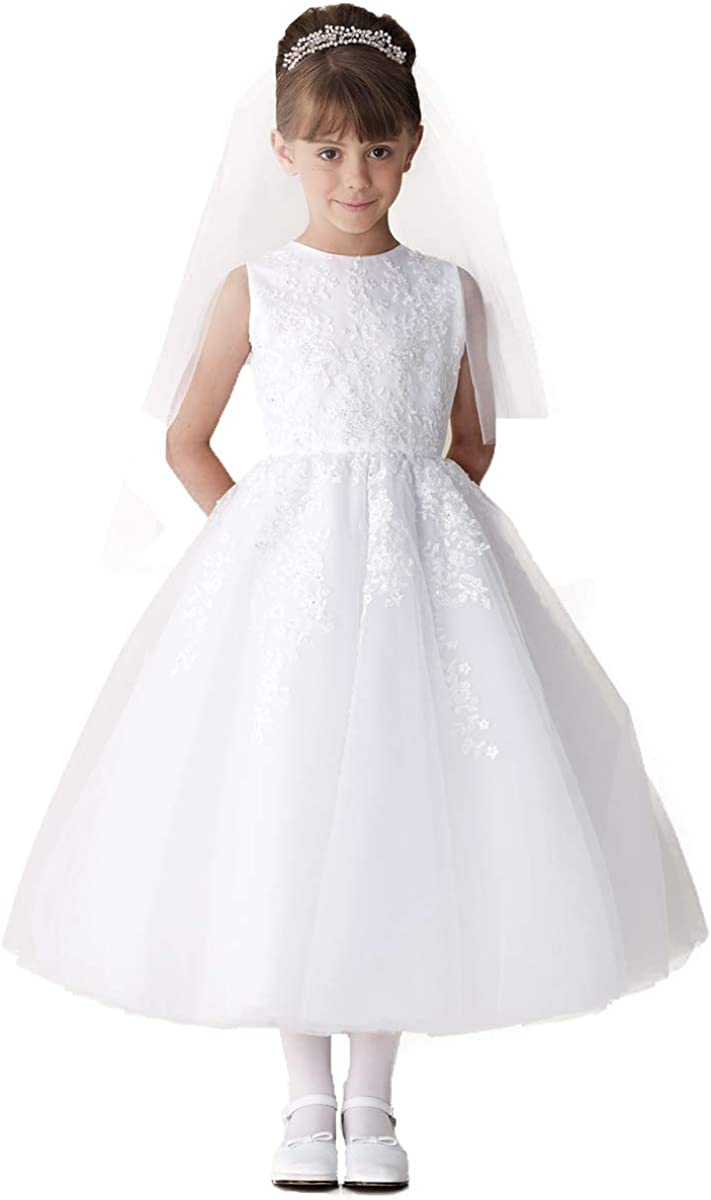 Amazon.com Joan Calabrese 18st First Communion Dresses for Girls 18 ...