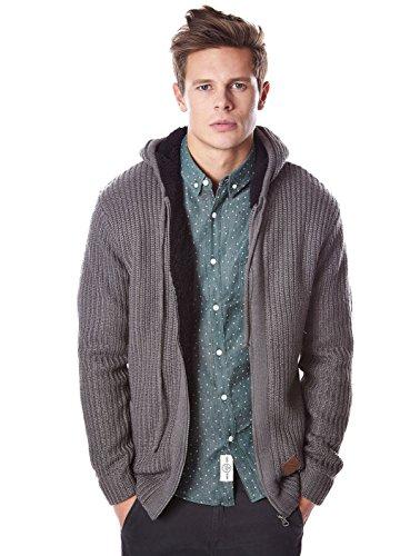 Shine Original Boa Knit Cardigan Gebreide jas voor heren