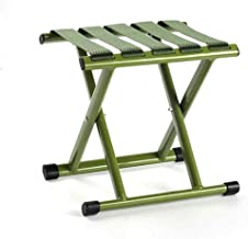 Dikke lakafwerking Outdoor klapstoel Draagbare opvouwbare aluminium campingstoel Viskrukje