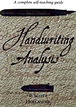 Handwriting Analysis: A complete self-teaching guide