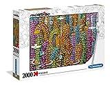 Clementoni- Puzzle 2000 Piezas Mordillo : The Jungle (32565.8)