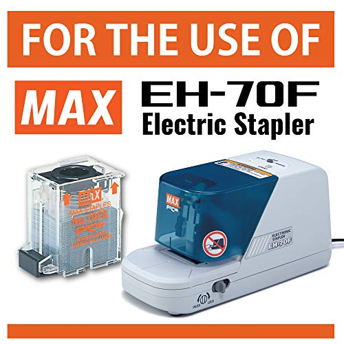 Max NO70FE Staple Cartridge for EH-70F Flat-Clinch Electric Stapler (Box of 5000) Photo #5