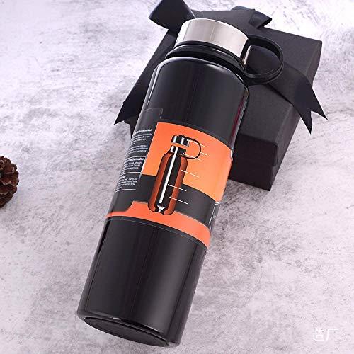 WENSISTAR Travel Vacuum Thermoses Beker, Vacuüm roestvrij staal vacuüm kolf, outdoor sport fles, grote capaciteit draagbaar waterglas, Dubbelwandige geïsoleerde waterfles