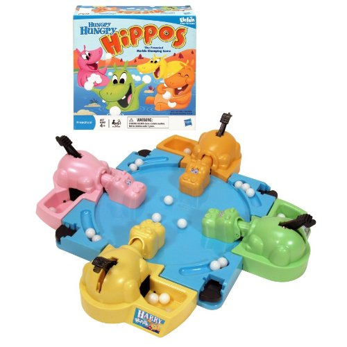 Hungry Hungry Hippos Tabletop Game (Packaging May Vary)