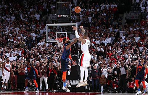 Poster laminato Damian Lillard NBA Pallacanestro Star Dimensioni 30,5 x 45,5 cm