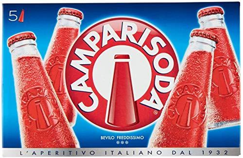 20x Campari soda Aperitiv 10 % Vol.Alk. Aperitif 10cl bitter aus italien