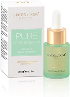 SÉRUM FACIAL PURE BOOSTER SIMON & TOM - Purificante y oxigenante  20 ml.