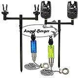 Angel-Berger Black Quick Rod Pod Bissanzeiger