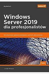 Windows Server 2019 dla profesjonalistów Paperback