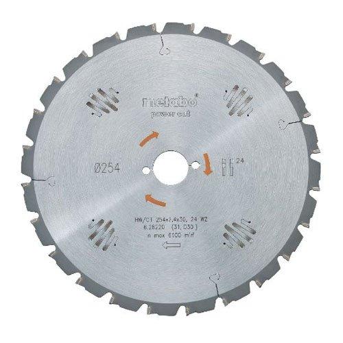 Metabo 628025000 PowerCutProf 254x30, 24 WZ 30°