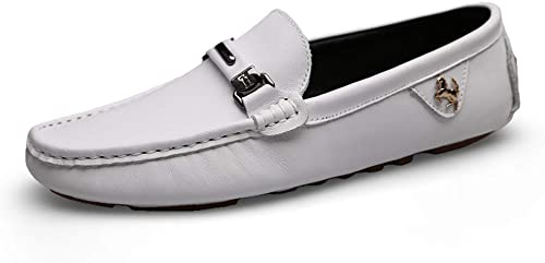 GPF-fei Chaussure en en en cuir mocassins chaussures bateau chaussure ronde orteil chaussure Lazy chaussures pois chaussures pour hommes confortable f93