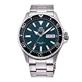 Orient Unisex Erwachsene Analog Automatik Uhr mit Edelstahl Armband RA-AA0004E19B
