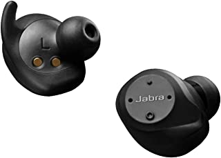 Jabra Elite Sport Earbuds - Wireless Earphones with Integrated Fitness App for Calls and Music - Black