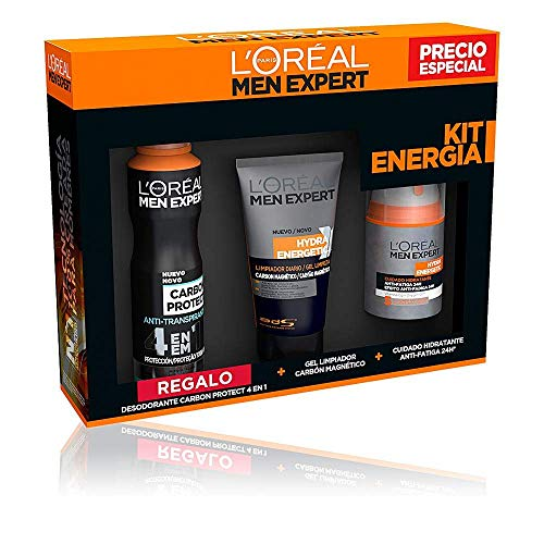 L'Oréal Paris Men Expert Hydra Energetic - Kit Energía