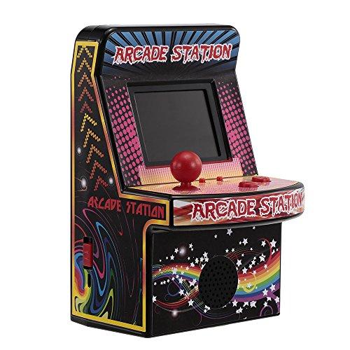 Goolsky 8 Bit Mini Classic Arcade Game Cabinet Machine Retro riproduttore Video Portatile con Giochi incorporati 240 Giochi Portatili novità Giocattoli elettronici