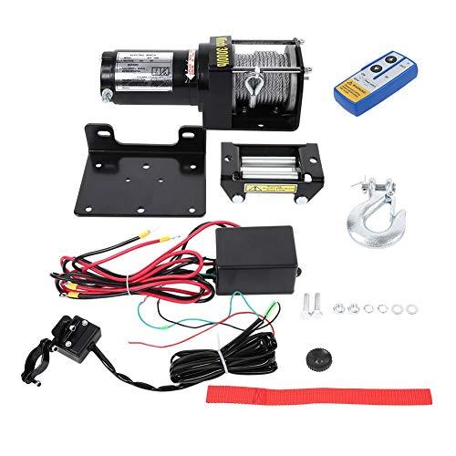 Winch 12V, Cabrestante Eléctrico kit de control remoto de alambre Winch de...