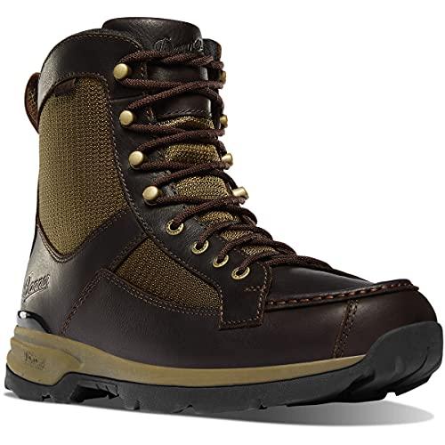 Danner Men's 47614 Recurve 7' Moc-Toe Hunting Boot, Brown/Olive - 12 D