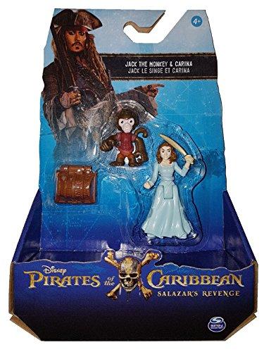 Piratas del Caribe: La venganza de Salazar - Jack The Monkey & Carina (Se distribuye desde el Reino Unido)