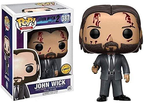 MEIQI CQ Pop: John Wick Capitolo 2 - John Wick Limited Chibi Edition Vinile Figura