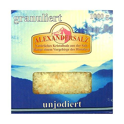 Alexanderzout gegranuleerd 1 kg kristalzout natuurlijke kruiden koken keuken