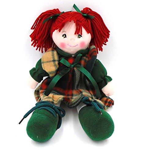 "Irish""Bridie Beag"" (Lucky) Plush Rag Doll"