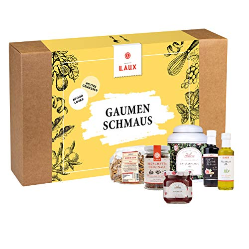 LAUX Feinkost Gaumenschmaus Geschenkset in toller Geschenkbox
