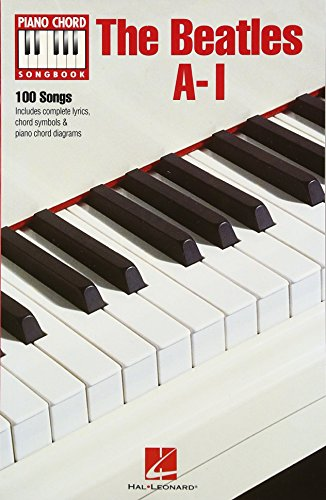 The Beatles A-I Piano Chord Songbook Bk (Piano Chord Songbooks)