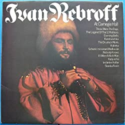 Ivan Rebroff - At Carnegie Hall - CBS - 80950