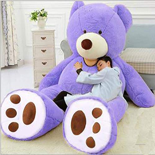 Ankepwj Riesige Größe 200cm 260cm 340cm Riesenbärenhaut Riesige Teddy Big Bear Komfortable Super Quality Soft Toys für Mädchen