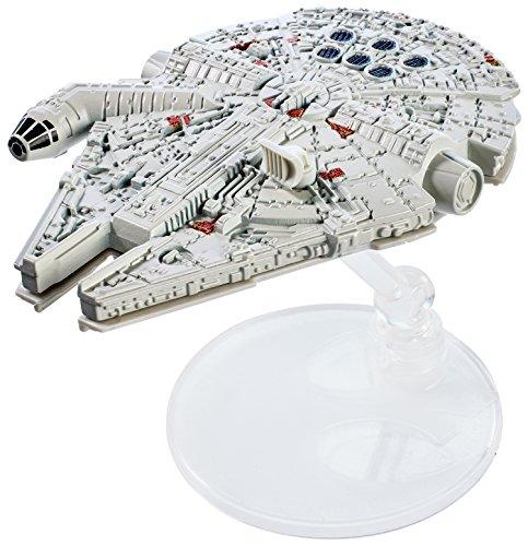 Hot Wheels Star Wars Rogue One Starship Vehicle, Millennium Falcon
