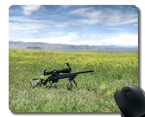 Ihr eigenes Customized Mousepad, Waffe Gewehr Gummibasis Mauspads