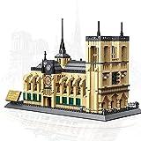 BENPAO Kits de Bloques de construcción de la Famosa Catedral de Notre Dame Regalos de Juguetes de construcción para niños Permita Que estén Juntos: para los Amantes conmemorativos