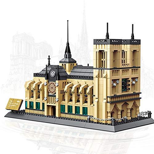 BENPAO Weltberühmte Notre Dame-Kathedrale-Baustein-Ausrüstungs-Kind-BAU-Spielzeug-Geschenke Lassen Sie zusammen-für Gedenkliebhaber Sein