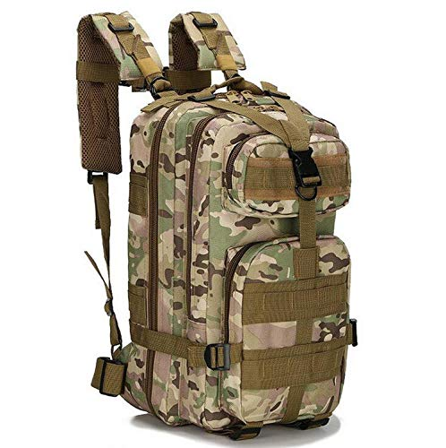 OASIS LAND 25L 3P Backpack Outdoor Bag Rucksack Men Camping Backpack Hiking Sports Pack Climbing Bags-4-OneSize